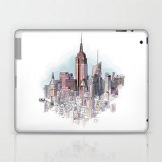 New York cityscape - Architectural illustration Laptop & iPad Skin