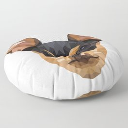 Chihuahua | Low-poly Art Floor Pillow