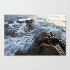 Stones at the beach Canvas Print