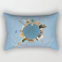 Rethymno little planet Rectangular Pillow