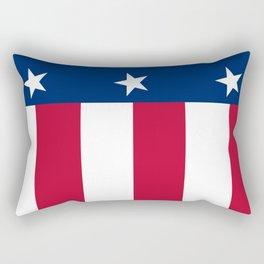State flag of Texas, official banner orientation Rectangular Pillow
