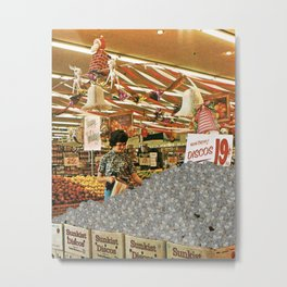 Fresh Produce Metal Print