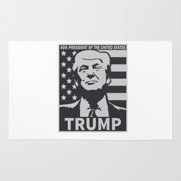 Donald Trump 45th President Rug