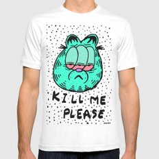 FEED ME OR KILL ME. Mens Fitted Tee White X-LARGE