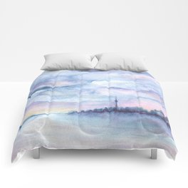 Once Upon Toronto - Skyline Comforters