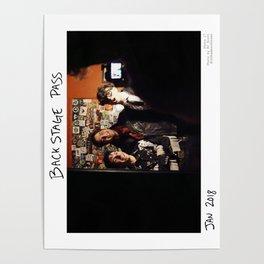 Birds in the Boneyard, Print 17: Backstage Pass Poster