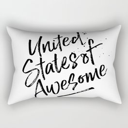 United State of Awesome Rectangular Pillow