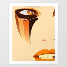 SUNSTREAKER Art Print