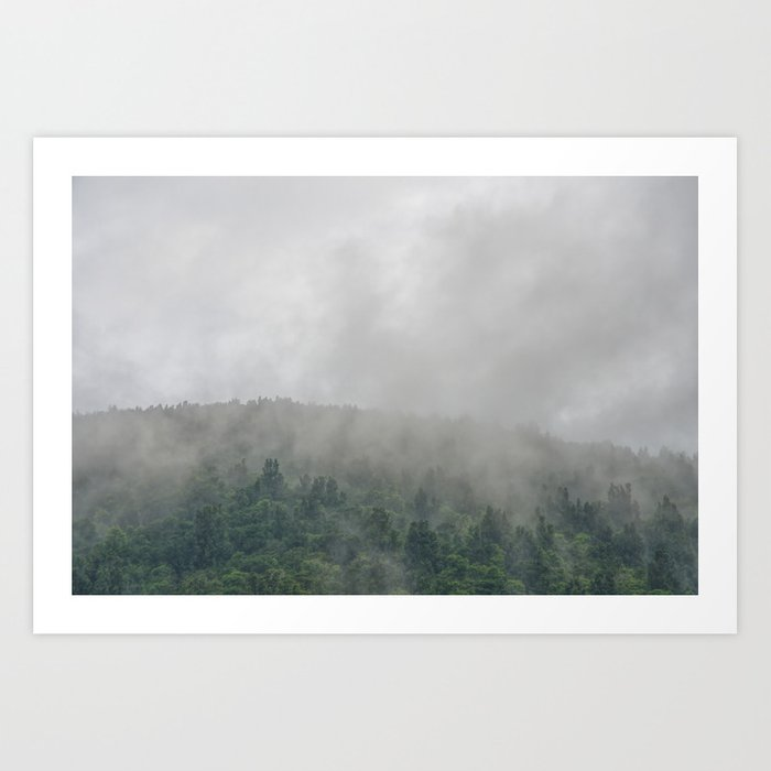 The Moody Days 4 Art Print