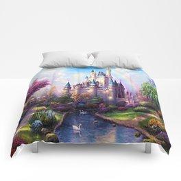 FAIRY FANTASY CASTLE Comforters