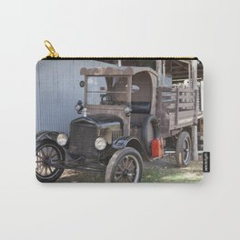 Old Form of Livestock Transport Carry-All Pouch