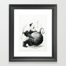 Panda Boom Framed Art Print