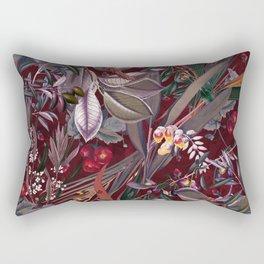 Midnight Garden IX Rectangular Pillow