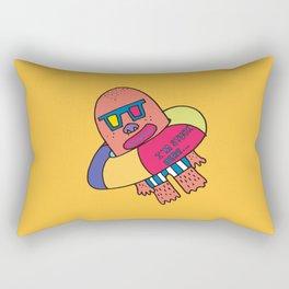 I'm stuck in Tube... Rectangular Pillow