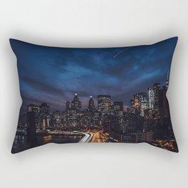 The City Never Sleeps Rectangular Pillow