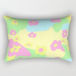 Child Garden Rectangular Pillow