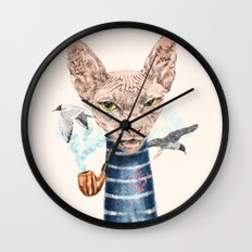 Sphynx Cat II Wall Clock
