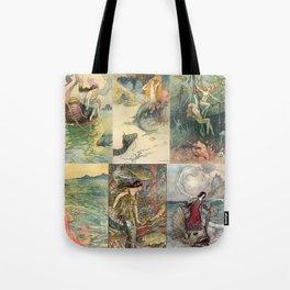 Storybook Mermaids Tote Bag