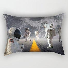 The Lost Astronauts Rectangular Pillow