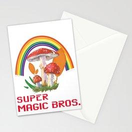 SUPER MAGIC BROS. MAGIC MAKER Stationery Cards