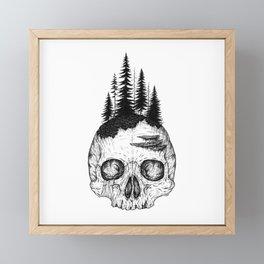 Flourishing Decay Framed Mini Art Print