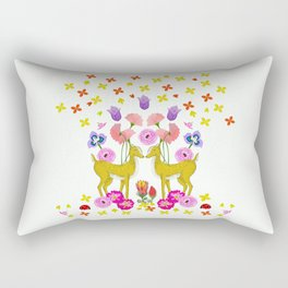 Oh deer, are you lost in Nature? Rectangular Pillow