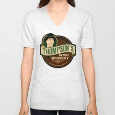 Thompson's Irish Whiskey Unisex V-Neck