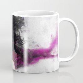 Purple Dream Of The Dead - Dia De Los Muertos Sugar Skull Coffee Mug