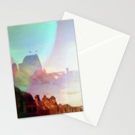 sydney skies Stationery Cards