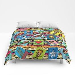 Loteria Night Comforters