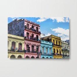 On the streets of Havana, Cuba Metal Print