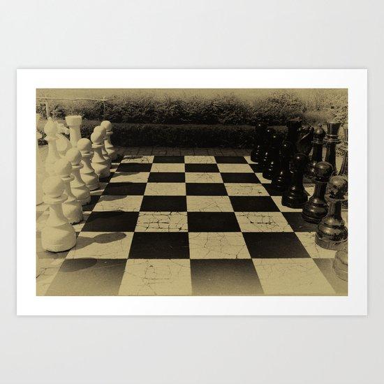 Checkmate! Art Print