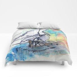 Edge of the Earth Comforters