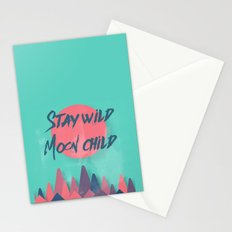 Stay wild moon child (tuscan sun) Stationery Cards