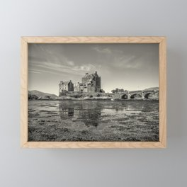 The Island Castle Framed Mini Art Print