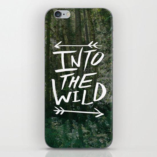 Into the Wild III iPhone & iPod Skin