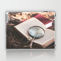 learn + explore. Laptop & iPad Skin
