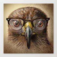 Hipster Eagle Canvas Print
