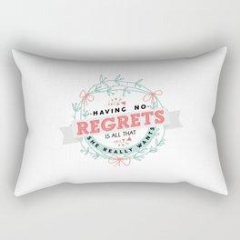 Night Changes Rectangular Pillow