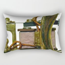 Machine nine Rectangular Pillow