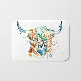 Highland Cow Bath Mat
