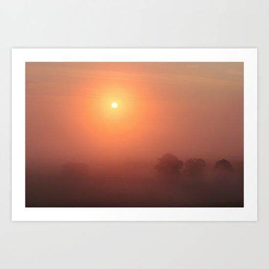 The Sun Before the Burn Art Print