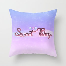 Sweet Thing. Throw Pillow