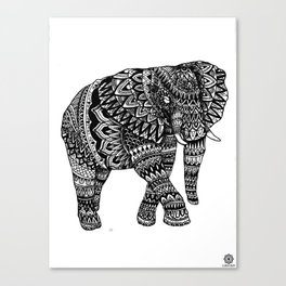Elephantidae Canvas Print