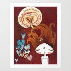 Friends-4-ever Bhoomie Art Print