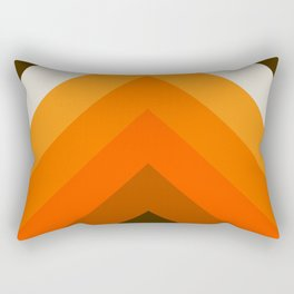 Golden Thick Angle Rectangular Pillow