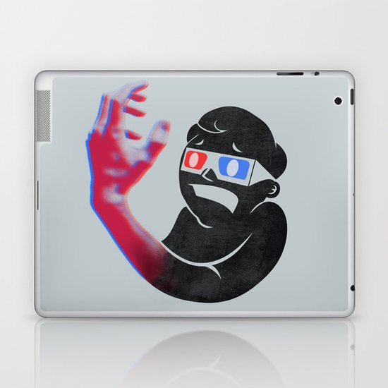Now in Eye-Popping 3D! Laptop & iPad Skin