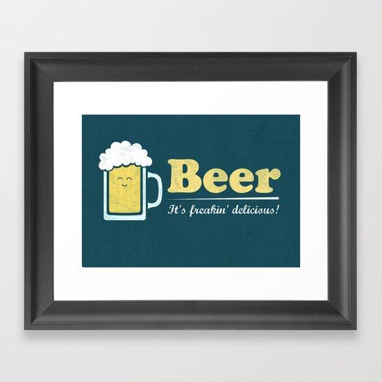 Obvious Slogan #3 Framed Art Print