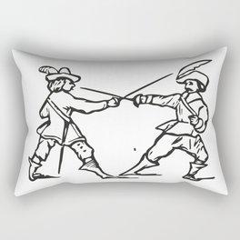 Musketeers Rectangular Pillow