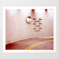 Take It Slow Art Print